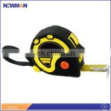 new height yellow and black case parts of a tape measure