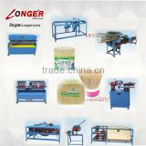 Bamboo toothpick product line|Bamboo toothpick processing machine|Toothpick making machine