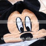 Children's cotton chenille Fleecy Hooded Bear/Panda Kids Animal Hooded Boys Girls Bath Robe