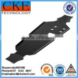 Small Black Painting Welding Parts & Sheet Metal Stamping and Welded Fabrication