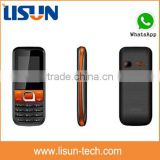 very cheap price US$7 gsm small size China Cell phone support whatsapp GPRS factory bulk price