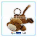 Cheap custom plush keychain mini buffalo toy