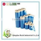 Hot sale protective plastic masking blue film