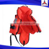 Nylon material waterproof life vest boating