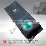 aluminum foil bags for coffee with valve /side gusset coffee bag with one way degassing valve
