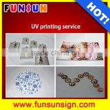 Golf ball USB card printing services 24th online services by A3 UV flatbed printer 1440dpi