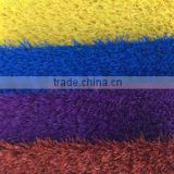 artificial colorful grass for playground field and soccer field