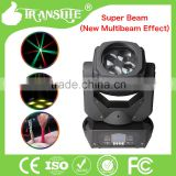 high power 4*25W multy color sharply beam moving head light for party lighting equipment