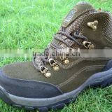 factory supply Men's waterproof outdoor Hiking Shoes non slip steel talon hiking shoes order