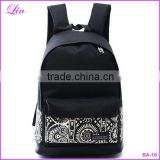 2016 New Chinese style school bags girls&boy canvas backpack men's travel bags women backpacks