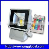 RGB Outdoor 100 Watt LED Flood Light for LED Projector with Remote Control