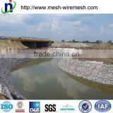 anping factory supply galvanized gabion box/pvc coated gabion mesh (manufacturer) for river