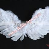 Small White Goose Feather Angel Wings For Kids Party Supplies In China