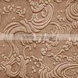 Decorative hardboard panels 1220*2440*2.5mm 1220*2440*3mm embossed hardboard decorative patterned hardboard decorative hardboard