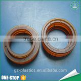 OEM ODM cheap custom different size plastic polysulfone psu o seal ring with cnc machining