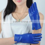 Women's high quality Ethiopian sheepskin leather gloves lined wool for casual and dress wear