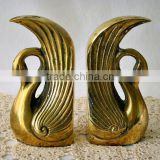 Bookends, Brass Bookends, Decorative Bookend