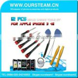 12 PCS Repair Opening Tools Kit For Iphone series 4G 4S For Iphone 5g 5s for Iphone 6 plus