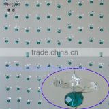 2013 China wholesaler new crystal beaded curtains design of window curtain for houses and wedding decoratiove