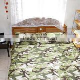 Camouflage cloth for bed cover