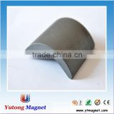 Arc Shaped Barium Ferrite and Strontium Ferrite Ceramic Magnets