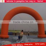 Guangzhou factory cheap inflatable arch for sale/ promotional inflatable advertising arch