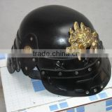 laughing buddha Leather helmet