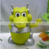 Hot sales plastic Kid money box/ Kid coin bank/ plastic Saving money box(SA8000, ICTI, BSCI accredited factory)