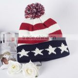 Hot Sales Fashion Men Women Warm Winter Knit Baggy Beanie Hat Ski Acrylic Cap Skull                                                                         Quality Choice