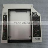 "Newest 2nd HDD Caddy 12.7mm 2.5"" IDE-SATA with Al Material"