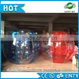 0.8mm/1.00mm PVC/TPU bubble ball soccer,human sized soccer bubble ball,loopyball/bubble soccer