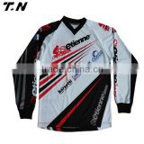 Sublimation fitting wholesale BMX cycling jersey                                                                         Quality Choice