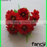 China wholesale flower 12 heads artificial silk peony flowers wholesale