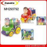 Bo Cartoon Fire Engine Car, Electric Car Toys