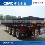 Hot Selling CIMC Supply Side Wall Semi Trailer,Utility Cargo Trailer