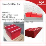 high density foam plyo boxes set