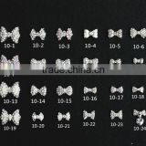 full designs czech stone wtih pearl bow-tie nail sticker                                                                         Quality Choice