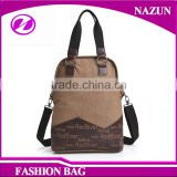 Daily Use Cross Body Bags Handbags Washed canvas cheap ladies bags