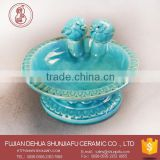 New Product Ceramic Decorative Plate Holder For Food,Fruit ,Dessert