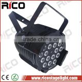 High quality stage production lighting DMX 32 bit led par64 rgbw 4in1