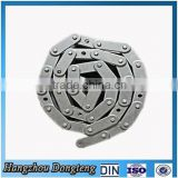DOUBLE PITCH CONVEYOR STEEL CHAINS WITH SPECIAL ROLLER LINK Steel Chains factory direct supplier DIN/ISO Chain made in china