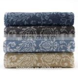 China supplier beautiful and premium pattern yarn dyed fabric 100% cotton bath towel