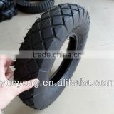 Three wheeler tyre 4.00-8/pneumatic rubber wheel 4.80/4.00-8