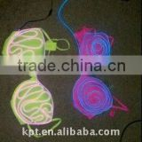 high bright lighting 1.2mm el wire for colorful bra