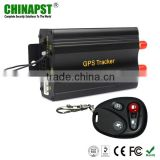 GPS Car tracker with engine cut and sos button and support online gprs fleet management tracking software PST-VT103B