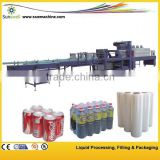 bottle shrink wrap machine/heat shrink packing machine/plastic bottle shrink packing machine
