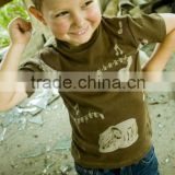 Organic Cotton Kids wear-Design: Musical Instrument Tee