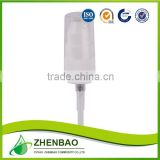 Half cap cream pump 20/410,cream lotion pump,cosmetic plastic cream pump from Zhenbao Factory