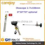ENT Otoscope auriscope 4x50mm 2.7x108mm 0 30 70 degree optional Compatible Stryker Wolf Olympus EndoscopY for ear mirror