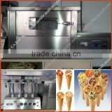 Factory Manufactured Commercial Stainless Steel Hourly 480-600pcs pizza cone shape machine Pizza Cone Making Machine Price